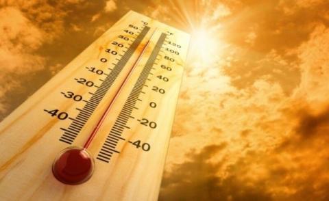 دمای هوا تا ۴۷ درجه گرم می شود